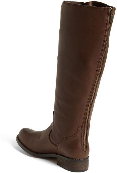 steve madden trrott boot in brown lyst