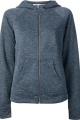 T By Alexander Wang Hooded Jacket - Lyst