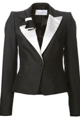 Viktor & Rolf Pleated Bow Tux Jacket - Lyst