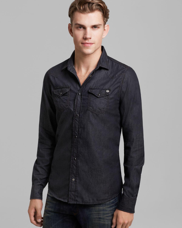 Black Dress Shirts