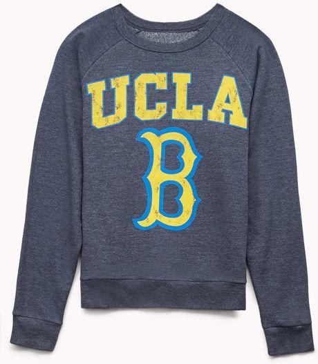 Forever 21 Ucla Bruins Sweatshirt in Blue (Blue/yellow)