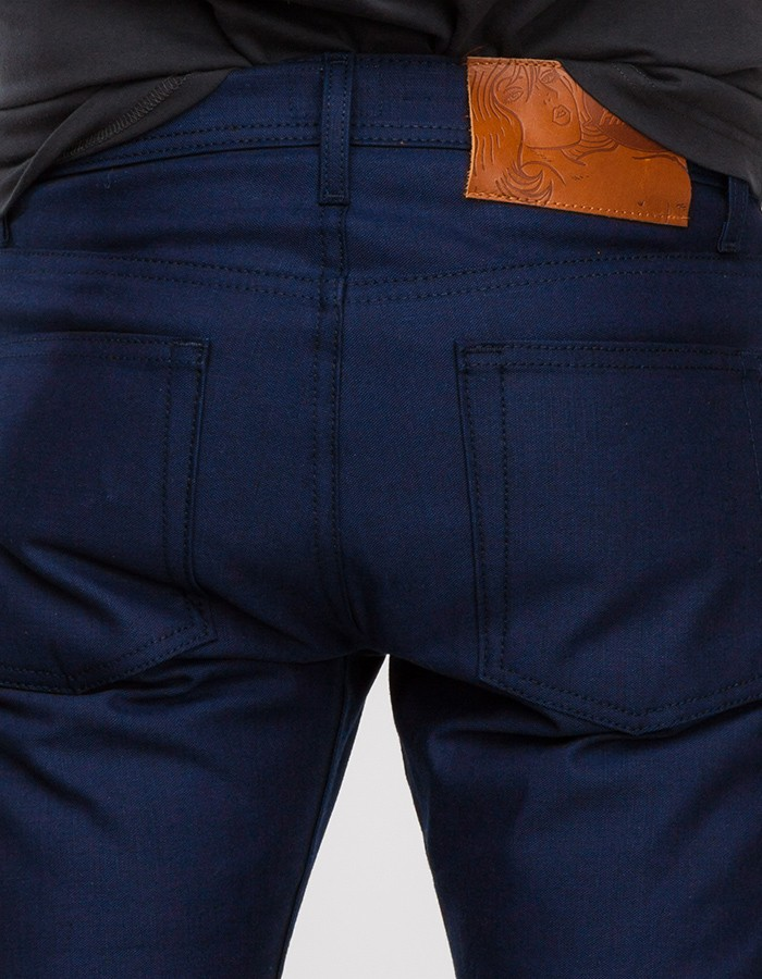 Naked  Famous Weird Guy Indigo Duck Selvage In Blue For Men  Lyst-4746