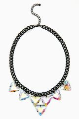 Nasty Gal Crystal Dreams Necklace - Lyst