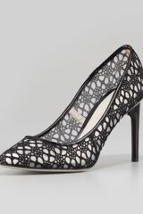 Jason Wu Sigrid Crochet Lace Pump Black - Lyst