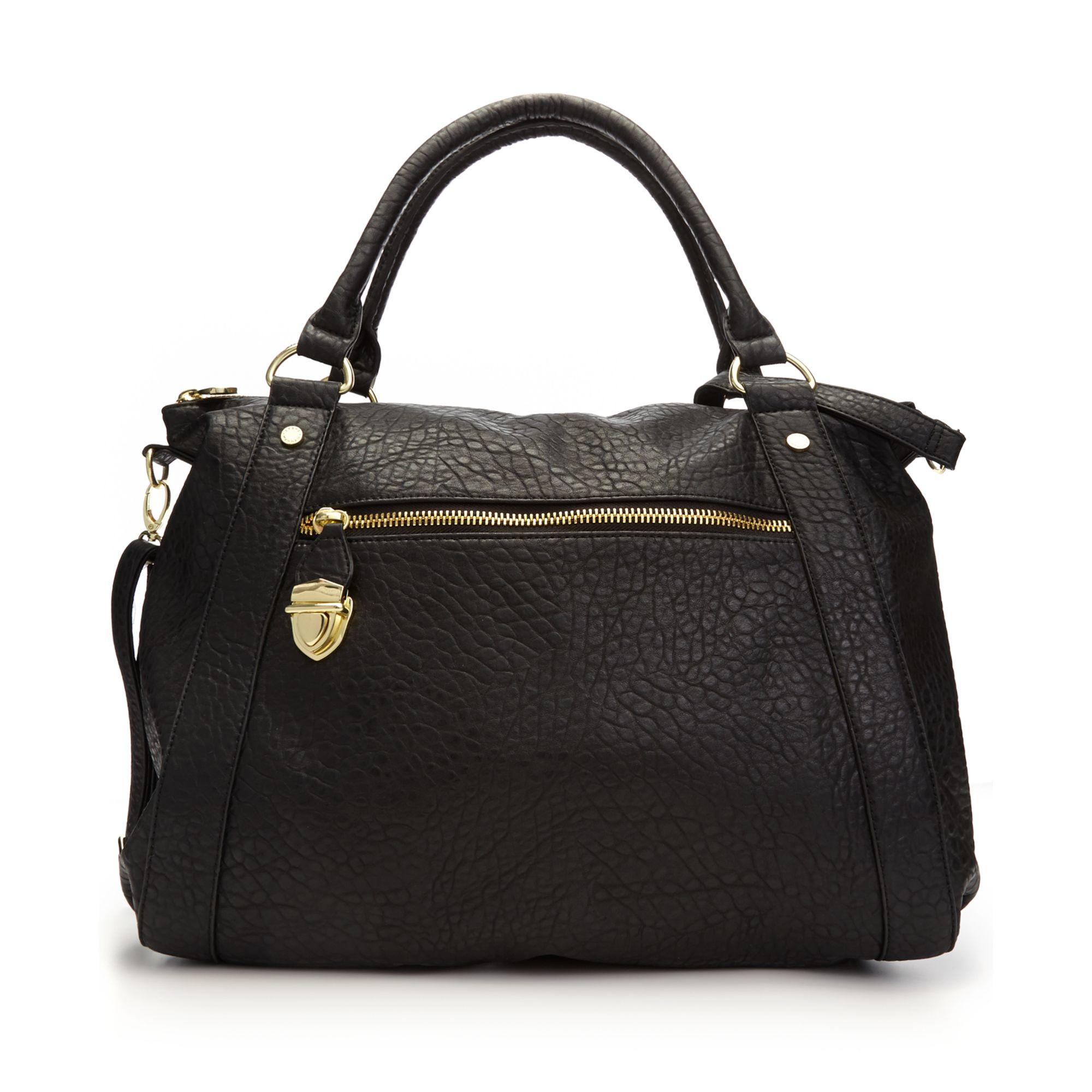 steve madden steve madden handbag bbarlow tote in black lyst