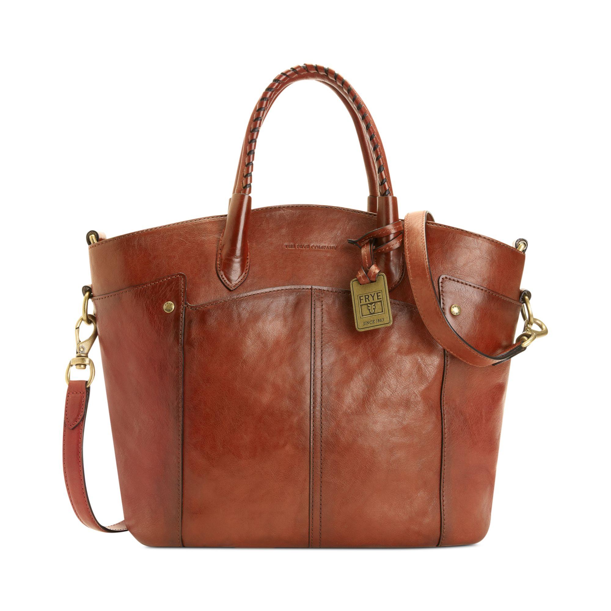 Frye Frye Handbag Renee Tote in Brown | Lyst