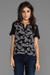 Marc By Marc Jacobs Rae Rae Tulip Cdc Top  - Lyst