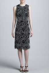 Michael Kors Soutache Dress - Lyst