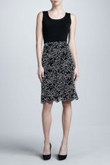 Michael Kors Soutache Skirt - Lyst
