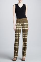 Michael Kors Canvas Trousers - Lyst