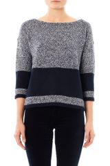 Rag & Bone Claire Bicolour Sweater - Lyst