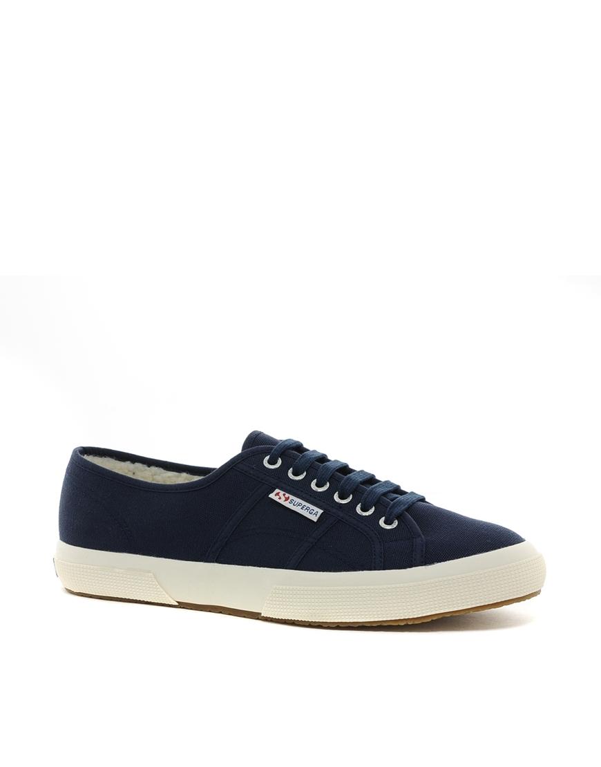Superga: Timberland Superga Cobinu Sneakers In Blue For Men