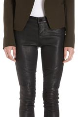 Vince Vented Front Collarless High Back Jacket - Lyst