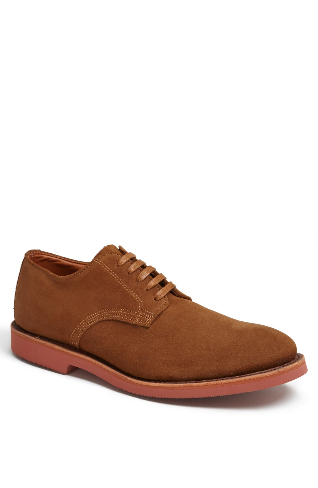 walk abram buck shoe in brown for burnt sugar