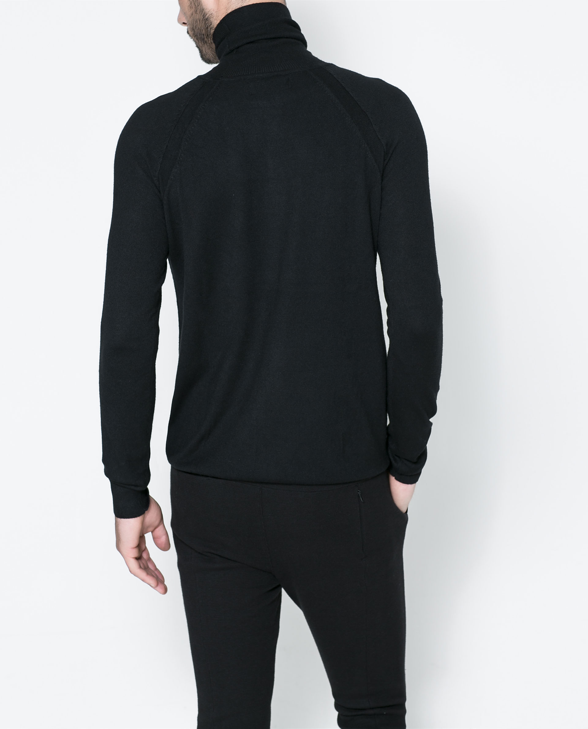 Zara Turtleneck Sweater Mens 80