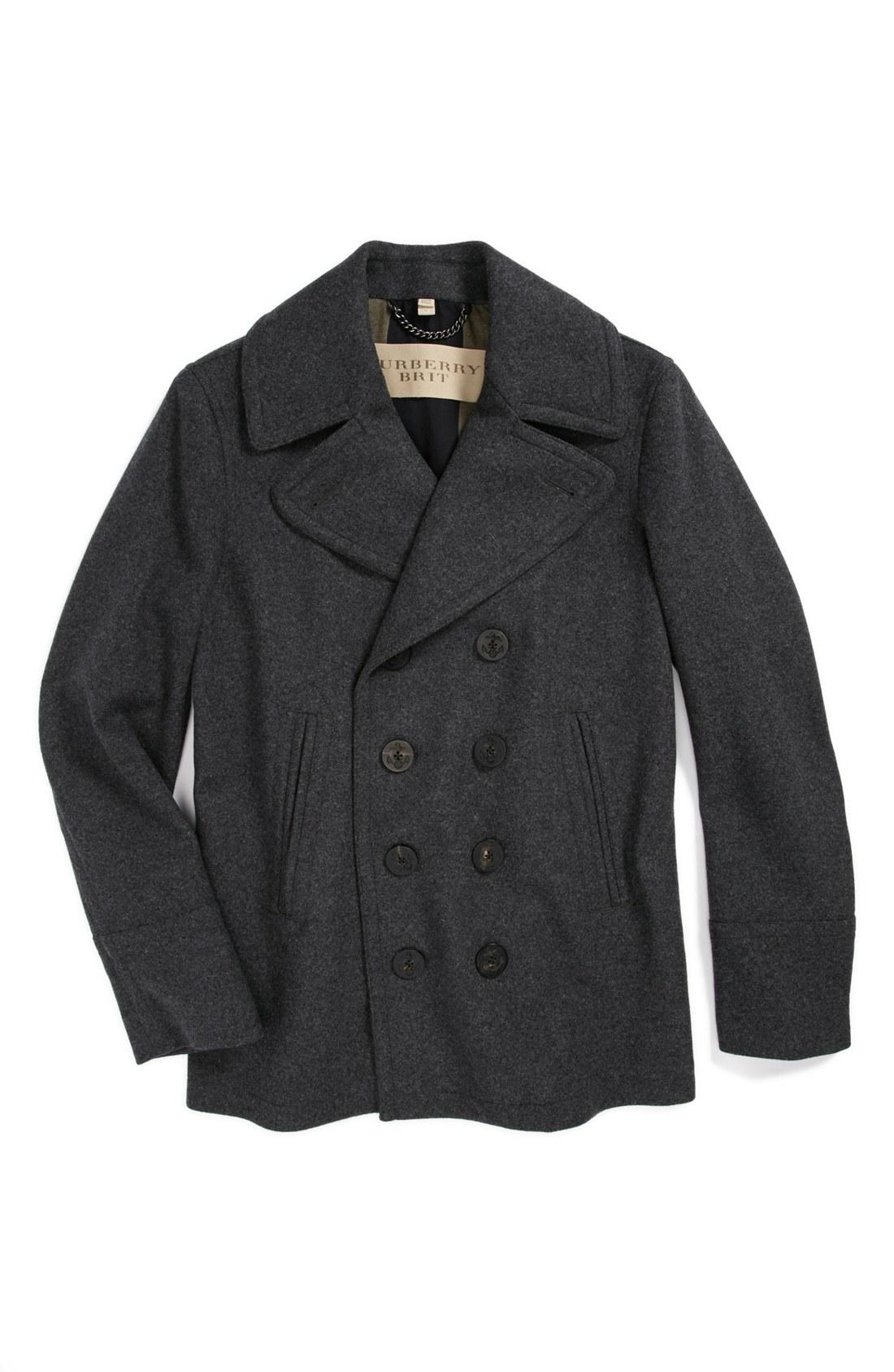 Burberry Brit Eckford Jacket In Gray For Men Dark Grey