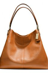 Coach Madison Phoebe Shoulder Bag in Leather - Lyst