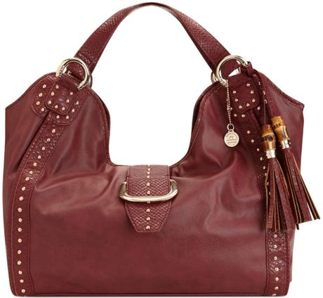 Big Buddha Big Buddha Handbag Shaniel Hobo in Purple (Burgundy)