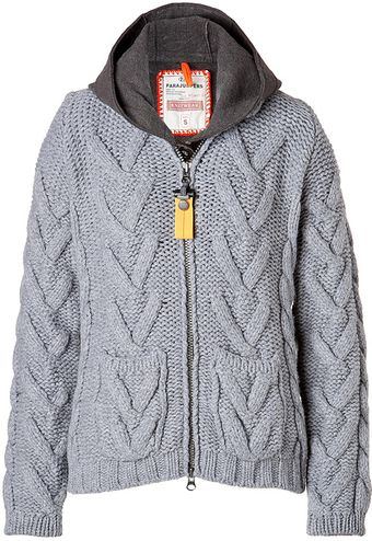 Parajumpers Sugar Grove Zip Hoodie in Heather Grey - Lyst