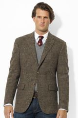 Polo Ralph Lauren Plaid Tweed Sport Coat - Lyst