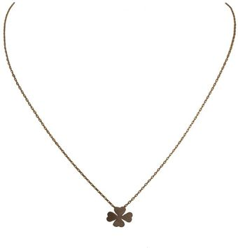 Ziba Layered Clover Necklace - Lyst