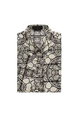 Alexander McQueen Stained Glass Short Sleeve Shirt - Lyst