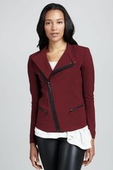 Elizabeth And James Charlotte Asymmetric Stretch Jacket - Lyst