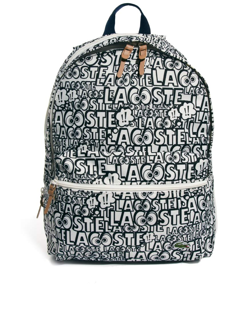 Taco Print Backpack, Black. Everest Bags