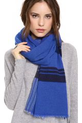 Marc By Marc Jacobs Jumbo Plaid Scarf - Lyst