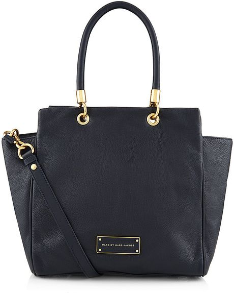 Marc By Marc Jacobs Too Hot To Handle Bentley Tote In Blue