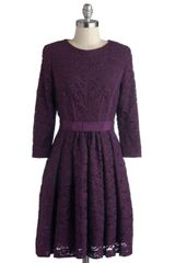 ModCloth Under The Grape Arbor Dress - Lyst