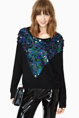 Nasty Gal Minkpink Glam Rock Sequin Knit - Lyst