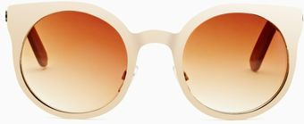 Nasty Gal Quay East Side Shades - Lyst