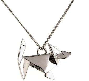 Origami Jewellery Necklace Dog - Lyst