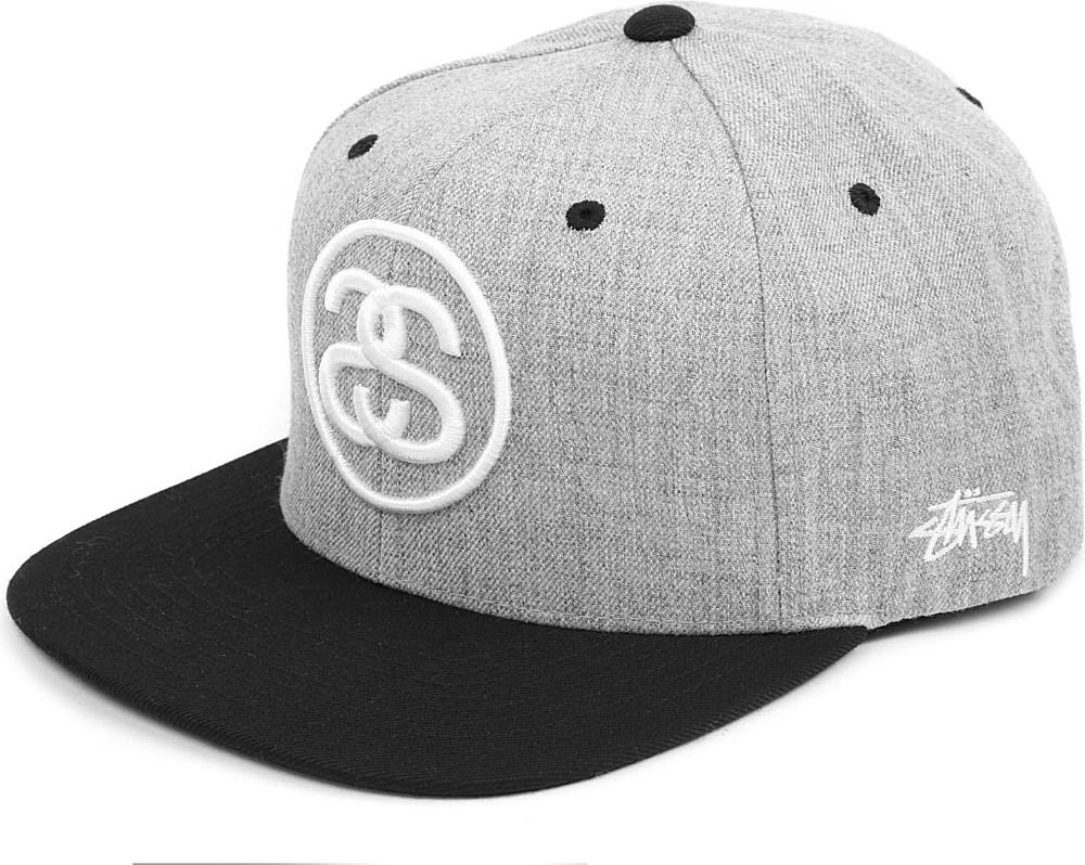 feae1c507 Stussy Sslink Twotone Snapback Cap in Gray for Men - Lyst