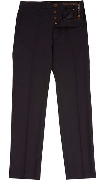 Vivienne Westwood Man Black Classic James Bond Trousers - Lyst