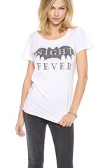 Zoe Karssen Night Fever Tee - Lyst