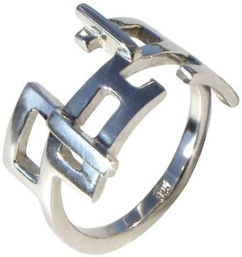 Arosha Luigi Taglia Circuits Mens Ring Sterling Silver - Lyst