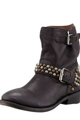 Ash Vicious Studded-leather Motorcycle Boot Black - Lyst