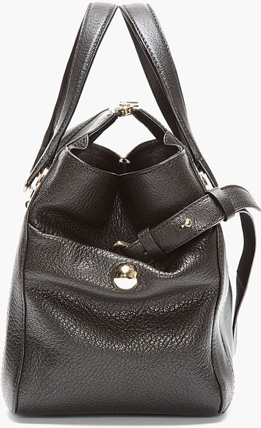Chloe Red Pebbled Leather Bridget Shoulder Bag 36