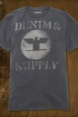 Denim & Supply Thunderbird Tee - Lyst