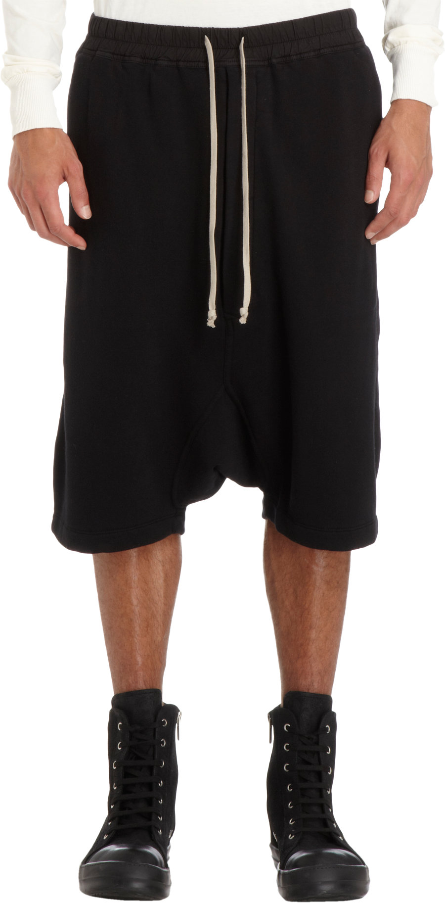 Pod shorts - Black Rick Owens