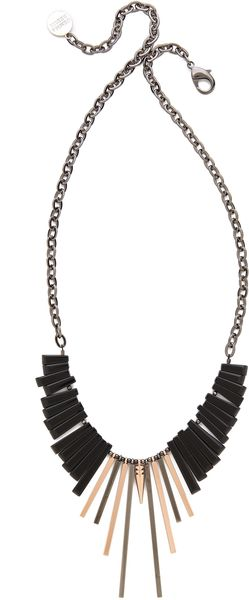 Gemma Redux Front Drop Necklace - Lyst