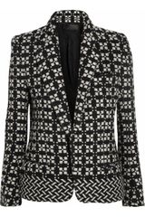 Haider Ackermann Wool-blend Tweed Blazer - Lyst