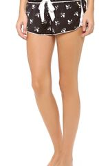 Juicy Couture Songbird Sleep Shorts - Lyst