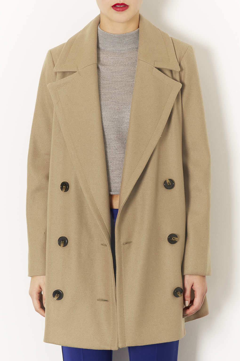 Topshop Womens Jewel Button Coat - Perfect Sale Online NHAljnSVb