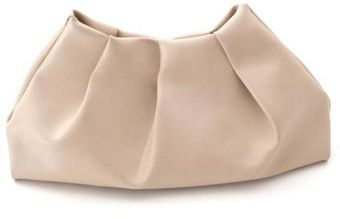 World Of Wonderful Leather Clutch - Lyst