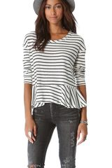 Free People Auntie Em Thermal Top - Lyst
