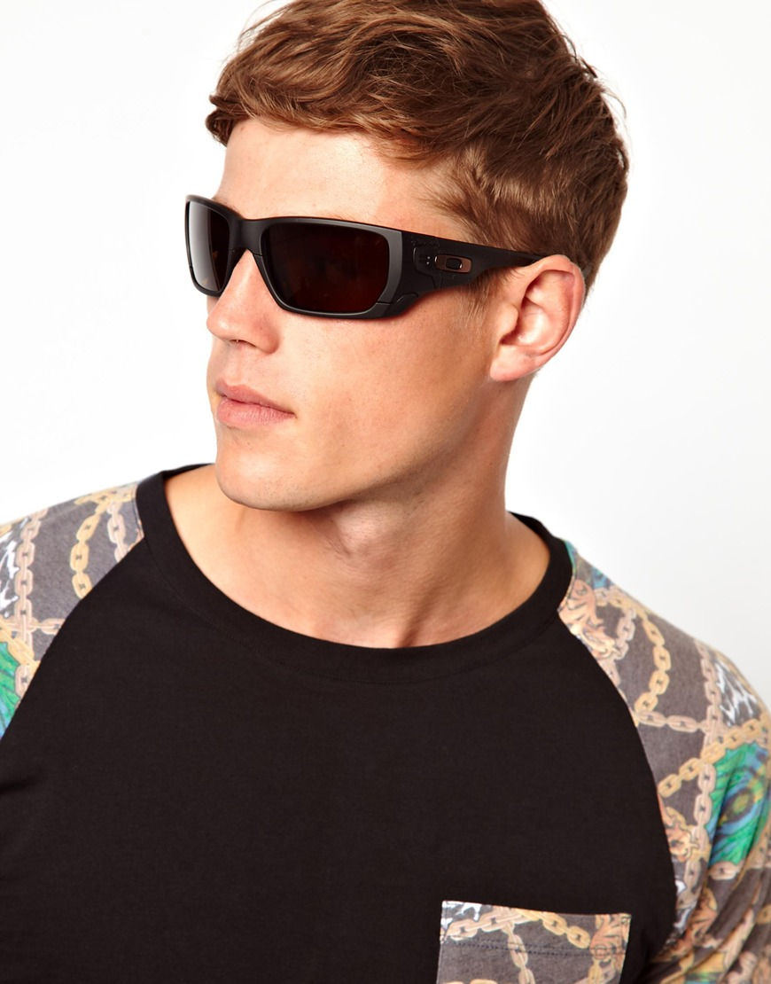 856b884e0f ASOS Oakley Style Switch Sunglasses in Black for Men - Lyst
