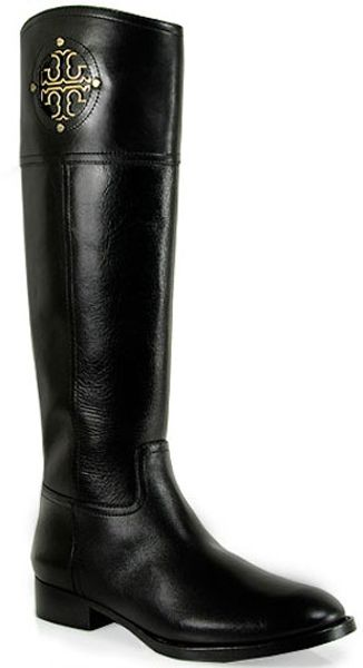 Tory Burch Kiernan Leather Riding Boot - Lyst